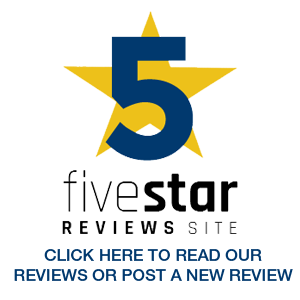 Five Star Reviews Award
